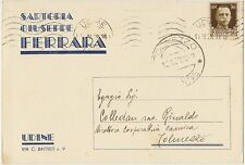 UDINE - SARTORIA GIUSEPPE FERRARA 1938