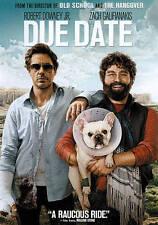 NEW Due Date (DVD, 2010) Robert Downey Jr & Zach Galifianakis