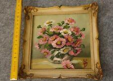Altes Gemälde Blumen