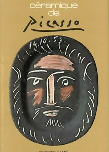Picasso Ceramic Art Pottery - Types ID Dates Etc. / Scarce Book   (SPANISH TEXT)