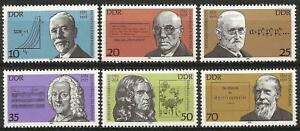 Germany (East) 1981 MNH - Celebrities Anniversaries Becher Telemann von Chamisso