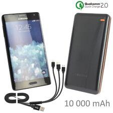 Pour Crosscall Trekker S1 : Batterie Externe Rapide 10A 2USB + Câble Universel