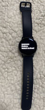 Samsung Galaxy Watch Active 2 40mm Aluminum Case with Black Sport Band.