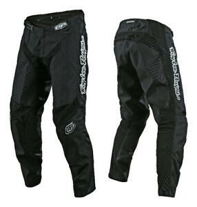 Troy Lee Designs MONO Black TLD MX GP Motocross Race Pants Adults