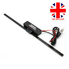 Car Van Internal Electronic Amplified Antenna Stereo Radio FM Aerial Universal