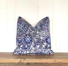 """Luxury Designer Handmade Andrew Martin Velvet Cushion & Cover Square 20x20"""""""