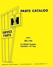 International 3414 Loader Dozer 3444 7000 Lift BC-414 Gas Engine Parts Manual IH