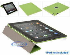 Limitless Creations D2GN Green SlimSkin Cover Smart Case for New iPad/iPad 4/3/2