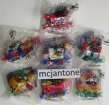 MIP LOT 7 Sonic Drive In 1999 WACKY PACK EXPRESS Fast Food Train Engine Toys