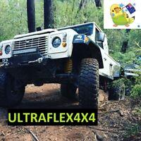 Genuine Ultraflex4x4 Defender Headlights  Pair  105W ADR Compliant.