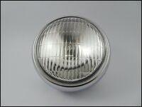 Yamaha CHAPPY LB50 LB80 YL2 Headlight + Chrome Case LAMP LIGHT  // Brand New