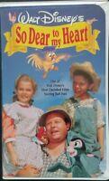 Disney's So Dear to My Heart (VHS,1948,1992, Clamshell ) Burl Ives Rare HTF OOP