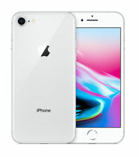 **Apple iPhone 8 64GB Silver LTE Cellular Straight Talk/TracFone MQ6L2LL/A (OW)