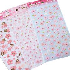 1X Cherry Blossom Stickers Sakura Flower Floral Craft Scrapbook Card CUTE JS