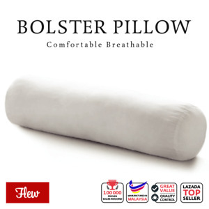 Flew Hug Bolster Pillow 100% Polyester Fibrefill 21cm x 90cm