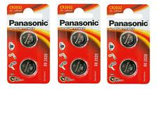 6 pile batterie CR2032 PANASONIC 3V LITIO 2032 lithium power br2032 dl2032