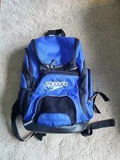 Speedo Teamster Backpack 25L Dark Blue and Black