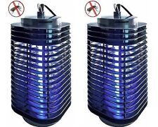 2 x Indoor Insect Killer Electric Zapper Bug Mosquito Fly Wasp Trap Pest Control