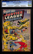 Brave & the Bold # 29 CGC 5.0 - 2nd app Justice League of America