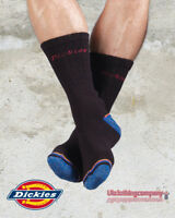Dickies Sock Strong Heavy Comfy Reinforced Work Industrial Socks (3 Pack)