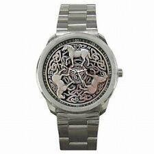Celtic Horse Knot Epona Medieval Stainless Steel Sport Watch New!