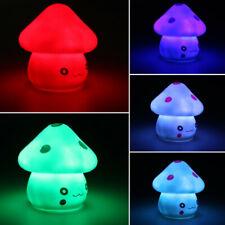 Animals LED Colorful Night Lights Children Kids Sweet Nursery Lamp Room Decor US