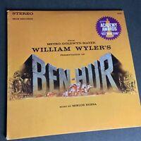 Miklos Rozsa 'Ben-Hur' 33RPM LP Vintage Record 1959 MGM Records