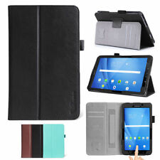 Leather Tablet & Ebook Smart Cover/screen Covers Folios for Samsung