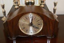 Junghans Art Deco Shelf Mantel/Walk Clock Rare Quartz Movement