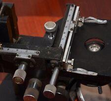 LOMO petrografik Microscope XY axe lineartis Croix de table ct-5 pour Zeiss LEITZ