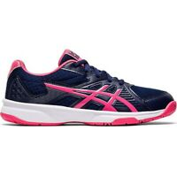 Asics Upcourt 3 women's volleyball shoes, navy blue-pink 1072A012 407