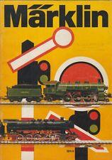 MARKLIN GAUGE HO Z & 1 MODEL RAILWAYS 1974 PRODUCT RANGE CATALOGUE (DUTCH TEXT)