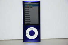 Apple iPod nano 5th Generation Purple 16GB MC064LL/A MP3 Player New Battery VGC.