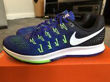 Para hombres Nike Air Zoom Pegasus 33 Zapatillas UK 7.5 Calzado para Correr Nuevo