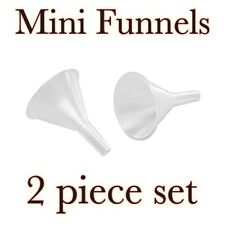 Crafter's Toolbox™ 2 pc Mini Funnels - Clear Plastic  - 1.5 inches - for CRAFTS