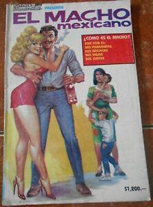 90s CHISTES comic JOKES funny fun MACHO machismo LATIN MEN HUNK SEXY parody RARE