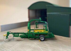 RMD Farm Conversions 1/32 Mchale 998 big bale wrapper Scratchbuilt farm