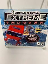 18 WHEELS OF STEEL: EXTREME TRUCKER! PC CD-ROM BIG RIG TRUCKER GAME! L@@K HERE!