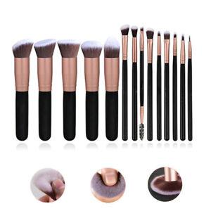 Makeup Brushes Set Eyeshadow Face Lip Blusher Powder Foundation Brushes Tools UK