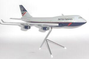 Boeing 747-400 BA British Airways Space Models Collectors Model Scale 1:200