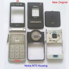 100% Genuine New Original Nokia N75 Full Set Fascia Housing - Black