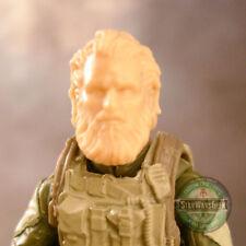 "MH385 Custom Cast Male head use w/ 3.75"" Star Wars GI Joe Marvel Universe figure"