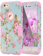 iPhone 6 Case, iPhone 6S Case Flower, New Durable Hard Shockproof Cover
