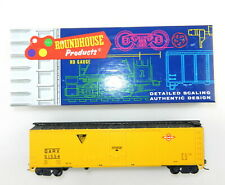 Roundhouse HO #1238 50' Ft GARX Boxcar Texas & Pacific   Finished