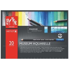 CARAN D'ACHE MUSEUM AQUARELLE PENCILS -20 Marine Inspired Watercolour Pencils
