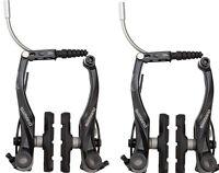 SHIMANO T4000 ALIVIO LINEAR V-BRAKE BLACK FRONT AND REAR BICYCLE BRAKES