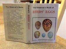 Observers Book Of Birds Eggs 1977::