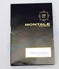Montale CHOCOLATE GREEDY Eau de Parfum .07fl.oz/2ml CARDED SAMPLE Free Shipping!