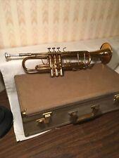 Vintage Holton Jazz Professional Trumpet W/original Case Fabulous Cond. #590924.