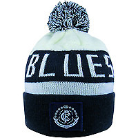 NEW Official Carlton Blues Bar Beanie